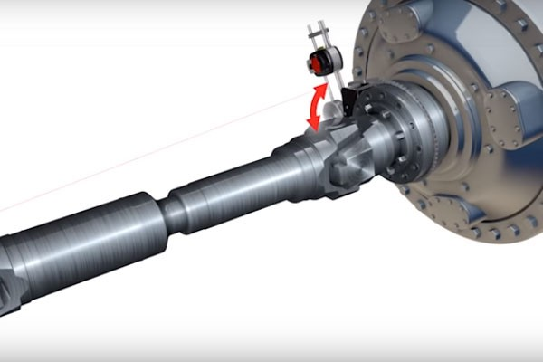 Cardan Shaft Alignment with ROTALIGN touch