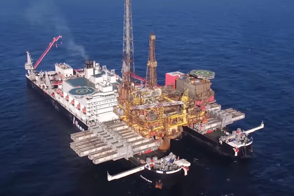 Marine Asset Monitoring on the Pioneering Spirit
