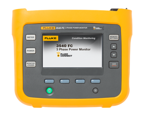 Fluke 3540 FC Three-Phase Power Monitor